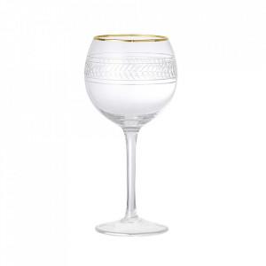 Pahar transparent din sticla pentru vin 520 ml Vilja Bloomingville
