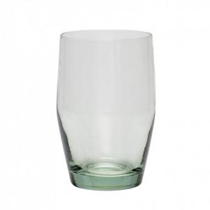 Pahar verde din sticla 8x12 cm Julio Hubsch