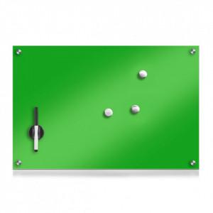 Panou memo verde din sticla 40x60 cmLynch Zeller