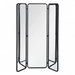 Paravan din metal si oglinda 180 cm Mirror Ixia
