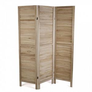 Paravan maro din lemn 40x170 cm Light Brown Screen Versa Home