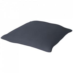 Perna de podea albastra din lana 120x120 cm Mega Floor Bolia