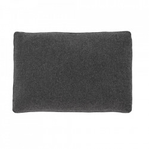 Perna decorativa dreptunghiulara gri din textil 50x70 cm Block La Forma