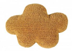 Perna decorativa galbena din bumbac pentru copii 40x50 cm Cloud Mustard Lorena Canals