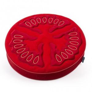 Perna decorativa rotunda din bumbac si poliester 64 cm Tomato Seletti
