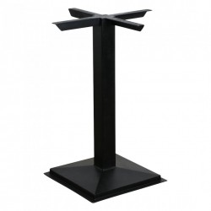 Picior negru din fier pentru masa dining Square Raw Materials