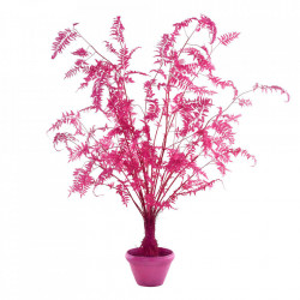 Planta artificiala cu ghiveci din lut si plastic 300 cm Fern Pink Pols Potten