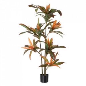 Planta artificiala din PVC si fier 140 cm Dracena Ixia