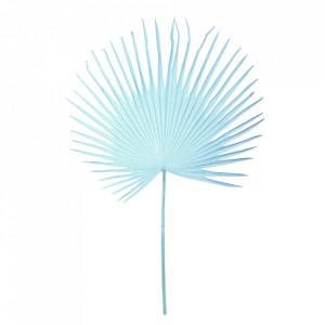Planta artificiala turcoaz din fier si plastic 152 cm Palm Pols Potten