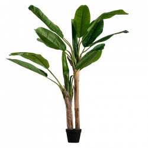 Planta artificiala verde cu ghiveci 138 cm Banana Woood