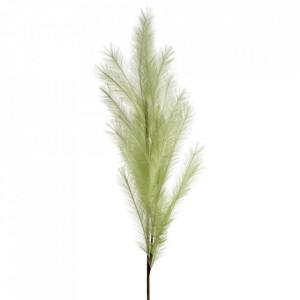 Planta artificiala verde din poliester si fier 114 cm Diadom Ixia