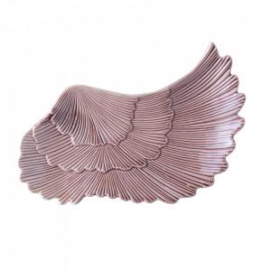 Platou roz din portelan 12x24 cm Nellie Bloomingville