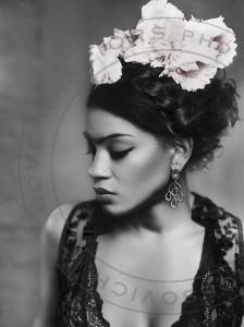 Poster 100x70 cm tyvek Frida Love Warriors