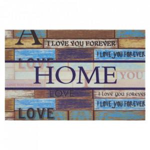 Pres multicolor dreptunghiular pentru intrare din polipropilena 45x70 cm Acoma The Home