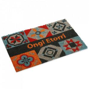 Pres pentru intrare multicolor din fibre de cocos 40x60 cm Symbols Versa Home