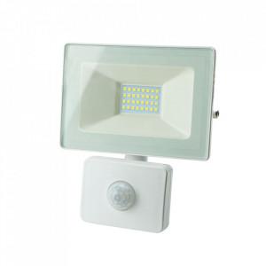 Proiector alb cu senzor din metal LED James Milagro Lighting