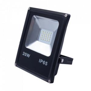 Proiector negru din metal LED Leck M Milagro Lighting