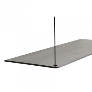 Raft negru din lemn de stejar si metal 60 cm Stedge Add-On Woud