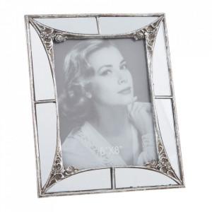 Rama foto argintie din polirasina 21x26 cm Mivona Ixia