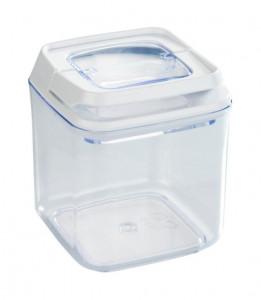 Recipient cu capac transparent/alb din polistiren si plastic 0,7 L Turin Mini Wenko