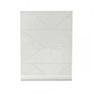 Rola tapet 53x1000 cm Lines alb Ferm Living
