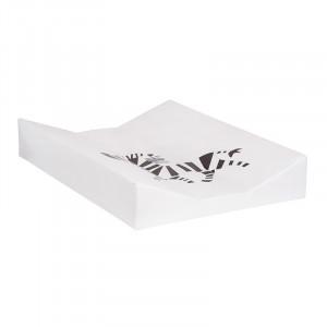 Saltea din PVC pentru masa de infasat 44x67 cm Zebra Quax