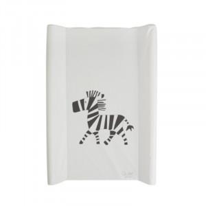 Saltea din PVC pentru masa de infasat 50x70 cm Zebra Quax
