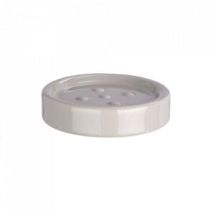 Savoniera gri din ceramica 2,5x11 cm Polaris Dish Light Wenko