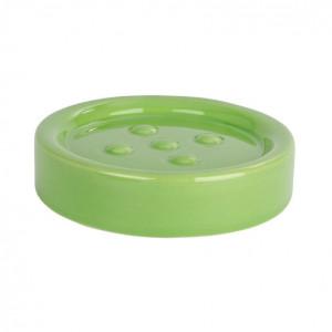 Savoniera verde din ceramica 2,5x11 cm Polaris Wenko