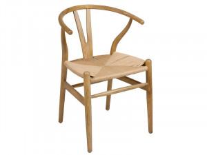 Scaun dining din lemn reciclat de ulm Elm Santiago Pons