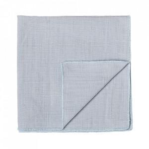 Servetel albastru din bumbac 40x40 cm Ann Bloomingville
