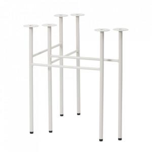 Set 2 picioare din metal pentru masa Mingle Avi Light Grey Ferm Living