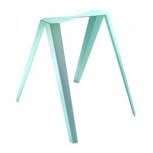 Set 2 picioare pentru masa verzi din otel Sanba Serax