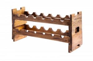 Set 2 suporturi maro din lemn pentru sticle de vin Hemingway Invicta Interior