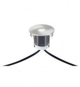 Set 3 spoturi dimabile argintii/negre din metal si plastic pentru exterior cu LED Garden Markslojd