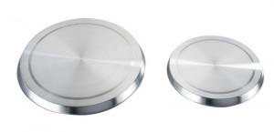 Set 4 capace argintii din inox pentru ochiurile de aragaz Stove Cover Plates Wenko