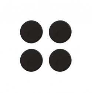 Set 4 magneti negri Rey Zeller