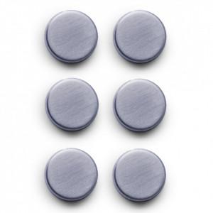 Set 6 magneti argintii Mills Zeller