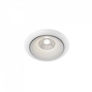 Spot alb din aluminiu cu LED Yin Maytoni