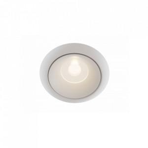 Spot alb din aluminiu Downlight Yin Round Maytoni