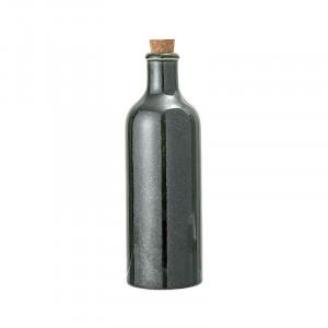 Sticla verde/maro cu dop 650 ml Joelle Bloomingville