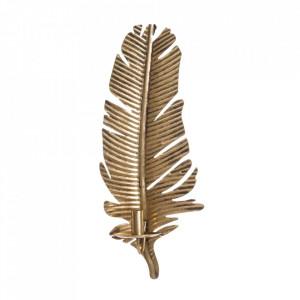 Suport lumanare auriu din zinc 54,5 cm Hamina Ixia