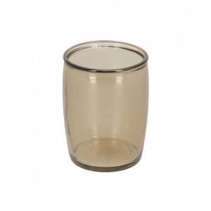 Suport maro din sticla pentru periuta dinti 430 ml Trella La Forma