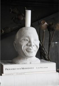 Suport pentru lumanari LW Icons Nelson Mandela Love Warriors