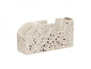 Suport pentru scotch din beton si piatra Giulia Terrazzo Hubsch