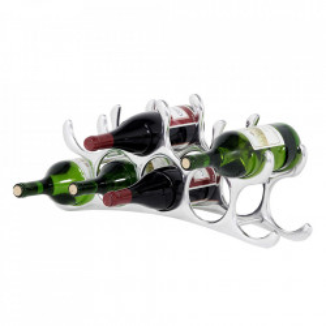 Suport pentru sticle din alama si aluminiu Alboran Medium Eichholtz