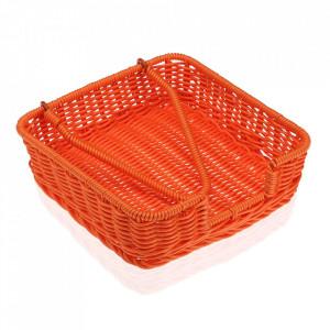 Suport servetele de bucatarie portocaliu din polipropilena Marjan Versa Home