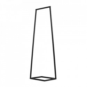 Suport umerase negru din metal 170 cm Hall Square Custom Form