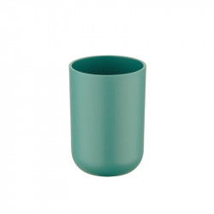 Suport verde din elastomer termoplastic pentru periuta dinti 7,3x10,3 cm Brasil Wenko