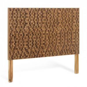 Tablie pat maro din lemn de tec 164 cm Koko La Forma
